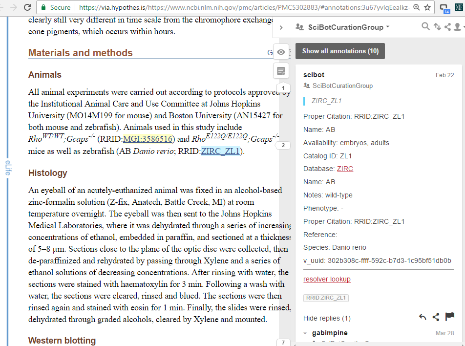 Weaving the Annotated Web