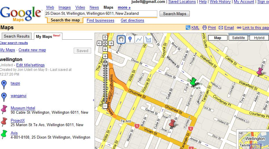 Annotating Online Maps For Offline Use Jon Udell - Colors in google maps